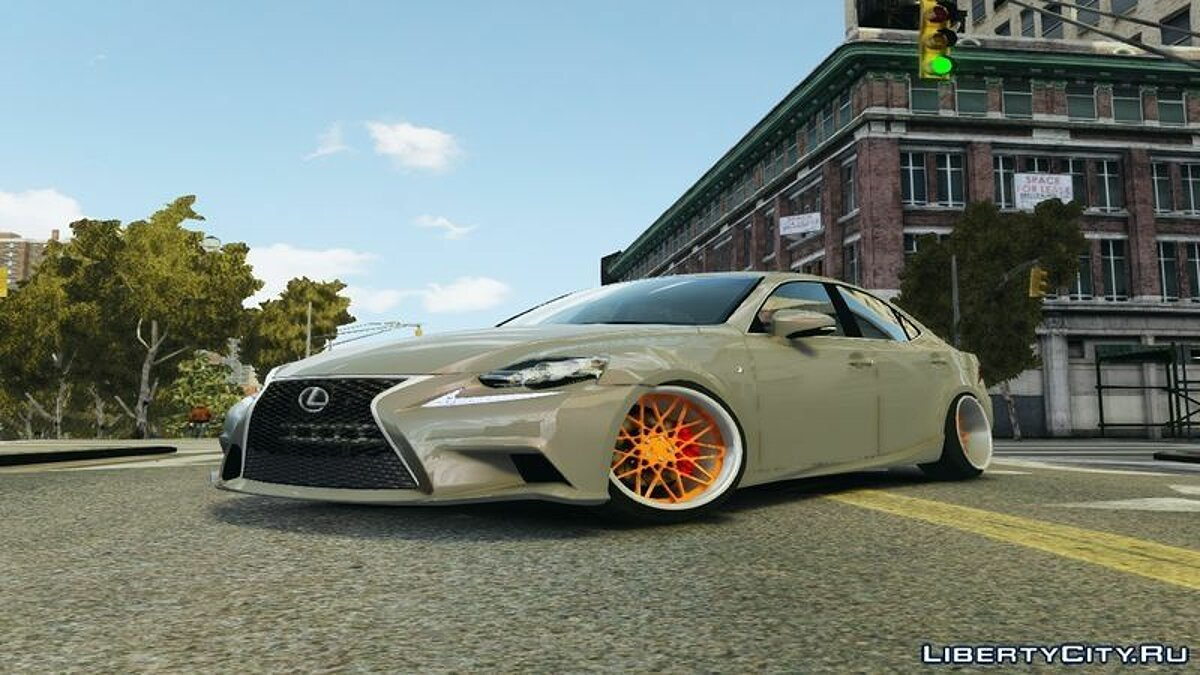 Lexus car Lexus IS350 Fsport Emre AKIN Edition for GTA 4
