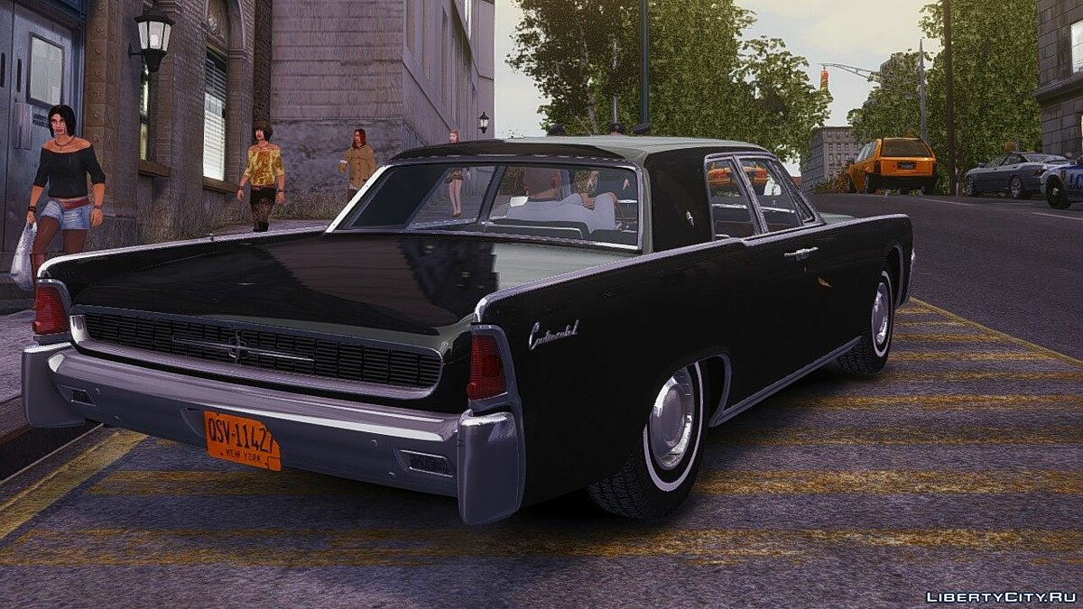 Lincoln car Lincoln Continental 1962 v1.0 for GTA 4