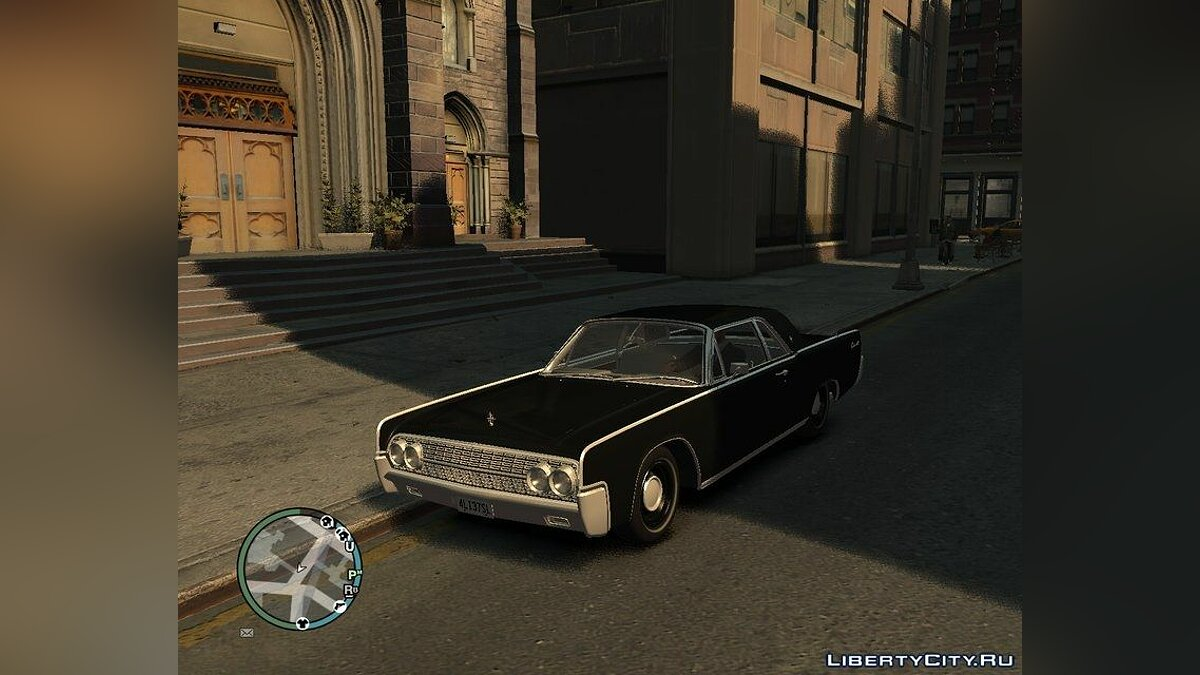 Lincoln car 1962 Lincoln Continental Coupe for GTA 4