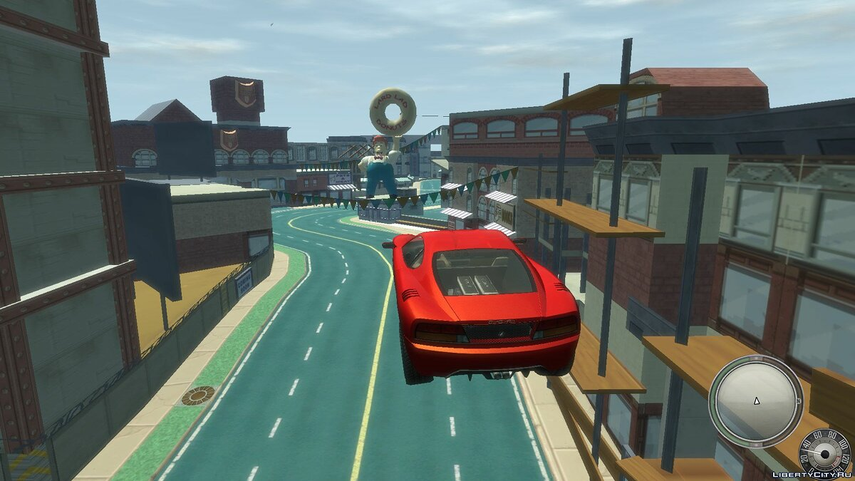 New islands Springfield IV - map of the Simpsons: Hit and Run for GTA 4