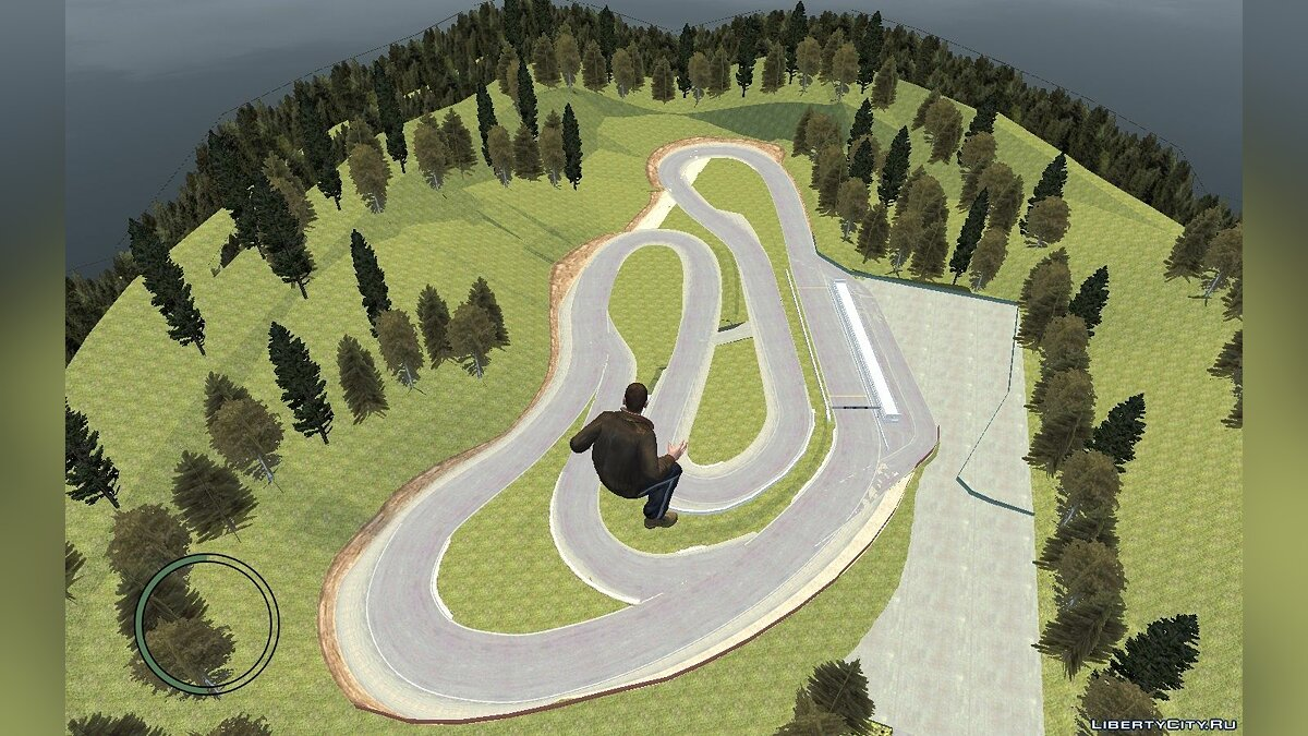 New islands YZ Circuit East for GTA 4