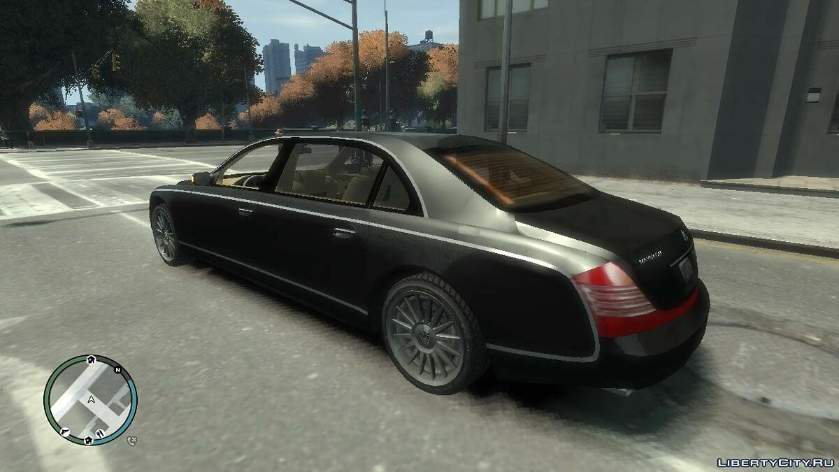 Maybach car 2003 Maybach 62 S for GTA 4