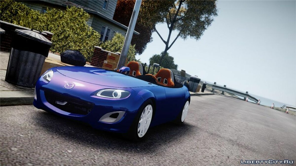 Mazda car 2009 Mazda Miata MX5 Superlight v1.0 for GTA 4