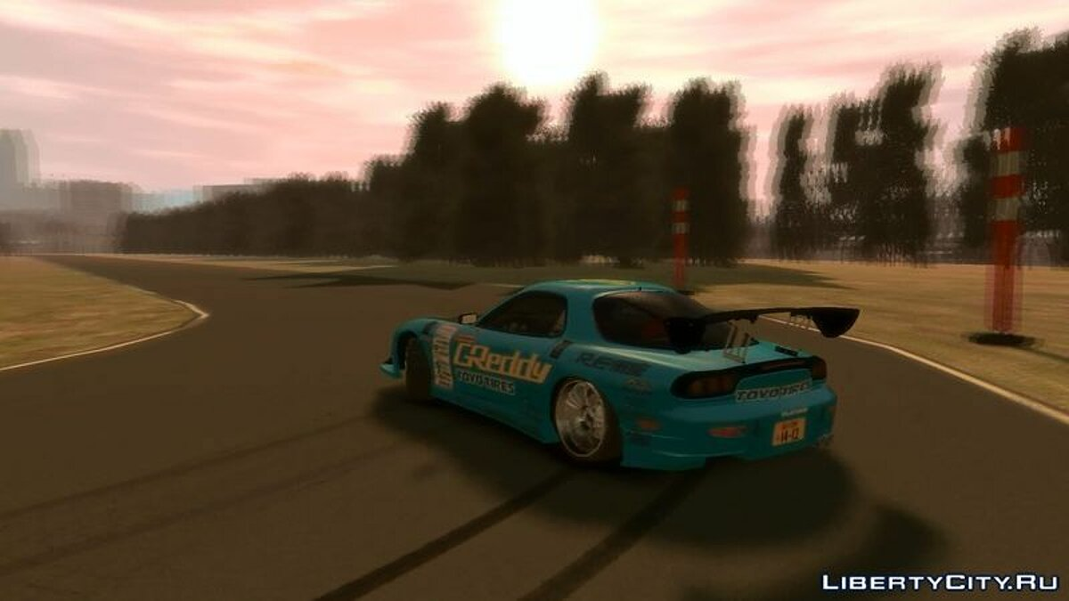 Mazda car Mazda RX-7 Greddy for GTA 4