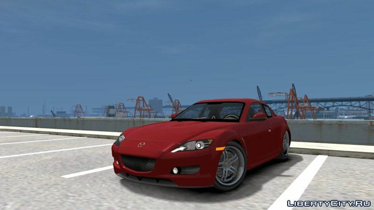 Mazda car Mazda RX-8 (NFS Carbon) for GTA 4