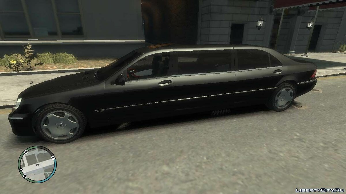 Mercedes Benz car Mercedes-Benz W220 S600 Pullman for GTA 4