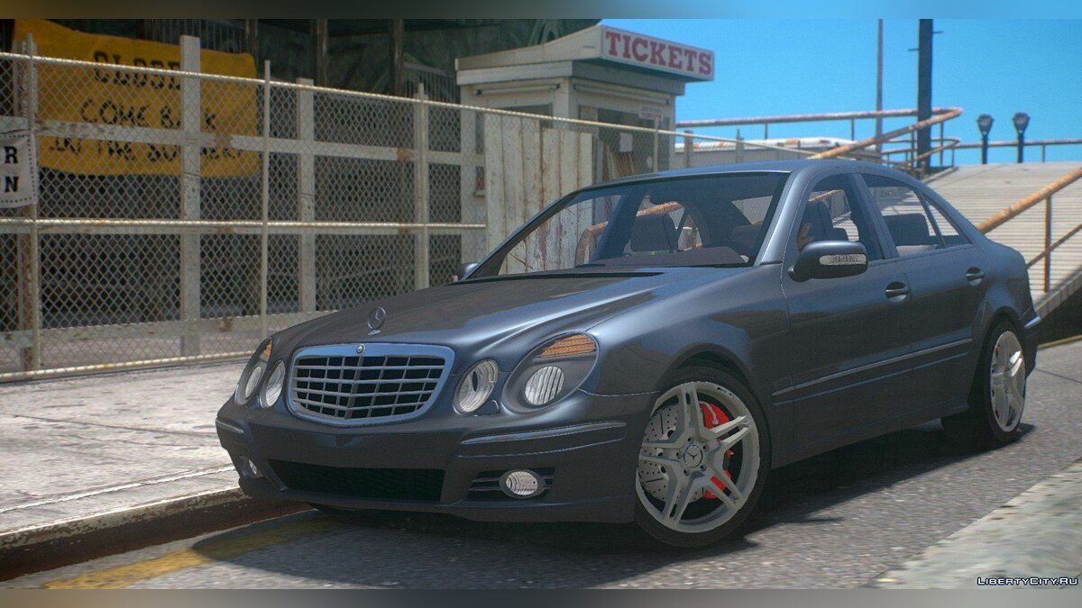 Mercedes Benz car Mercedes-Benz AMG E320 W211 for GTA 4