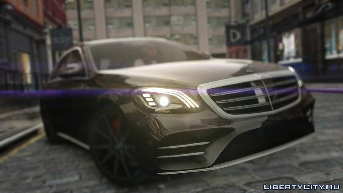 Mercedes Benz car 2018 Mercedes Benz S63 AMG W222 for GTA 4