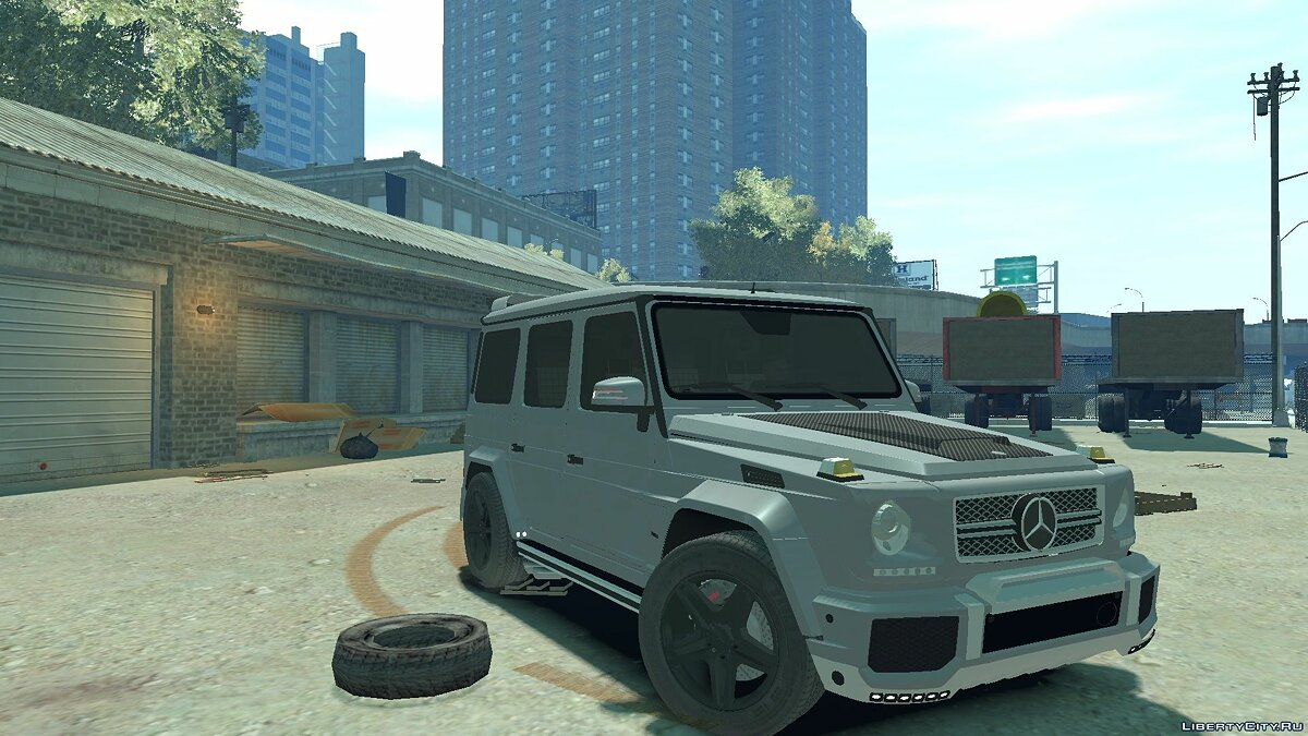 Mercedes Benz car Mercedes-Benz G65 W463 for GTA 4