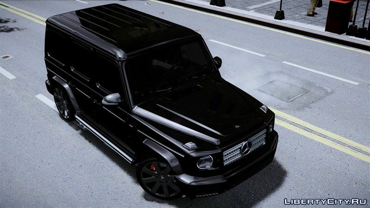 Mercedes Benz car Mercedes G-Class 2019 for GTA 4