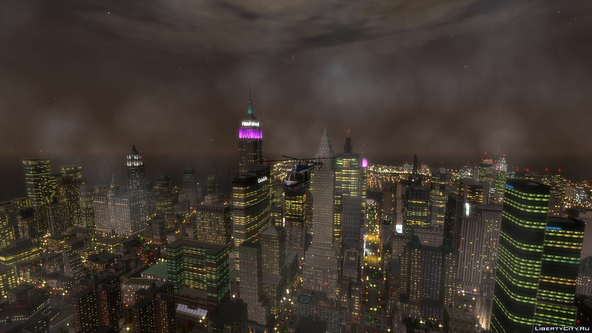Mod Beta Lights of the Rotterdam Tower for GTA 4