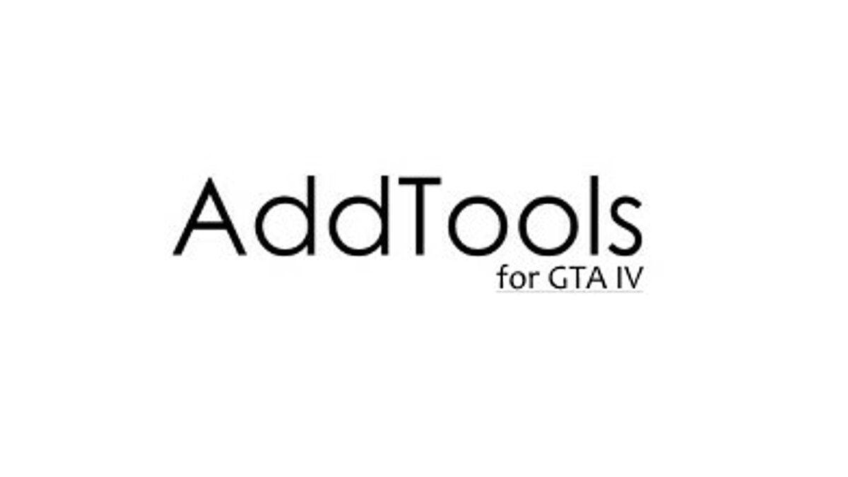 Program AddTools for GTA 4