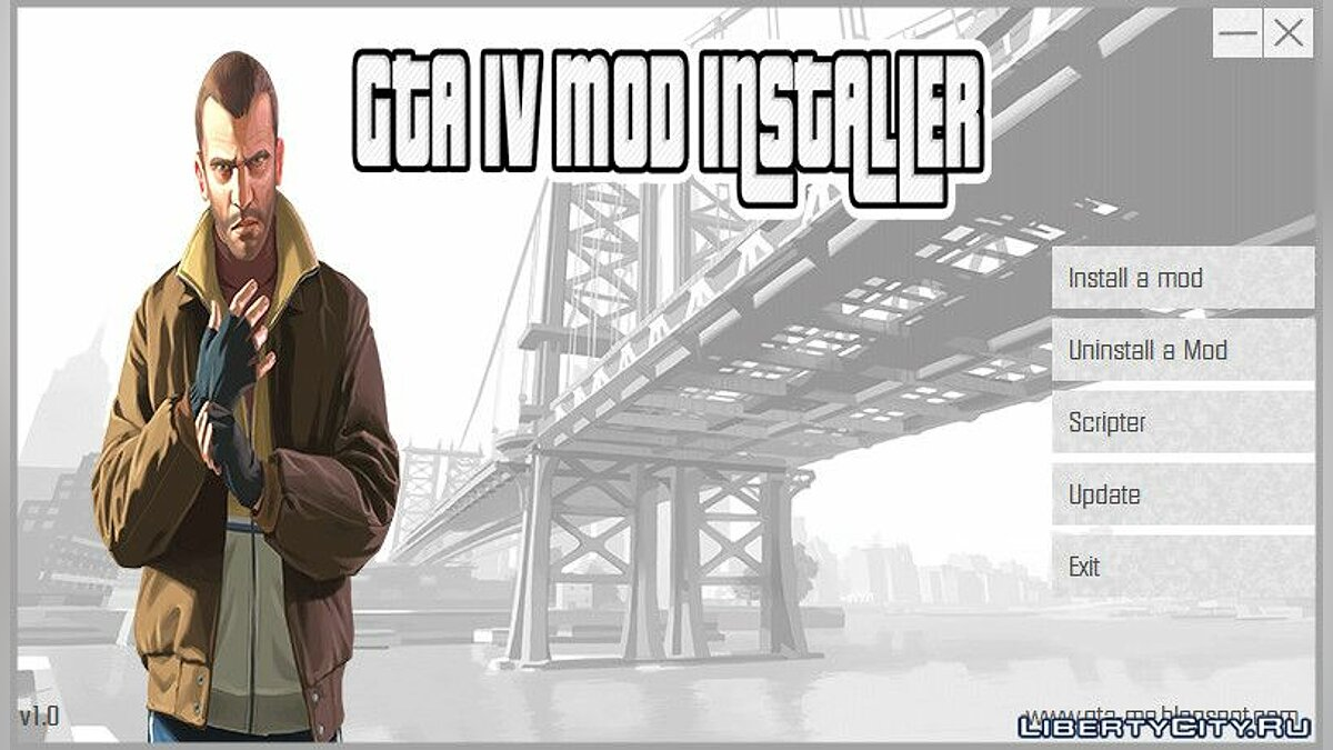 Program Gta IV Mod Installer v1.0 for GTA 4