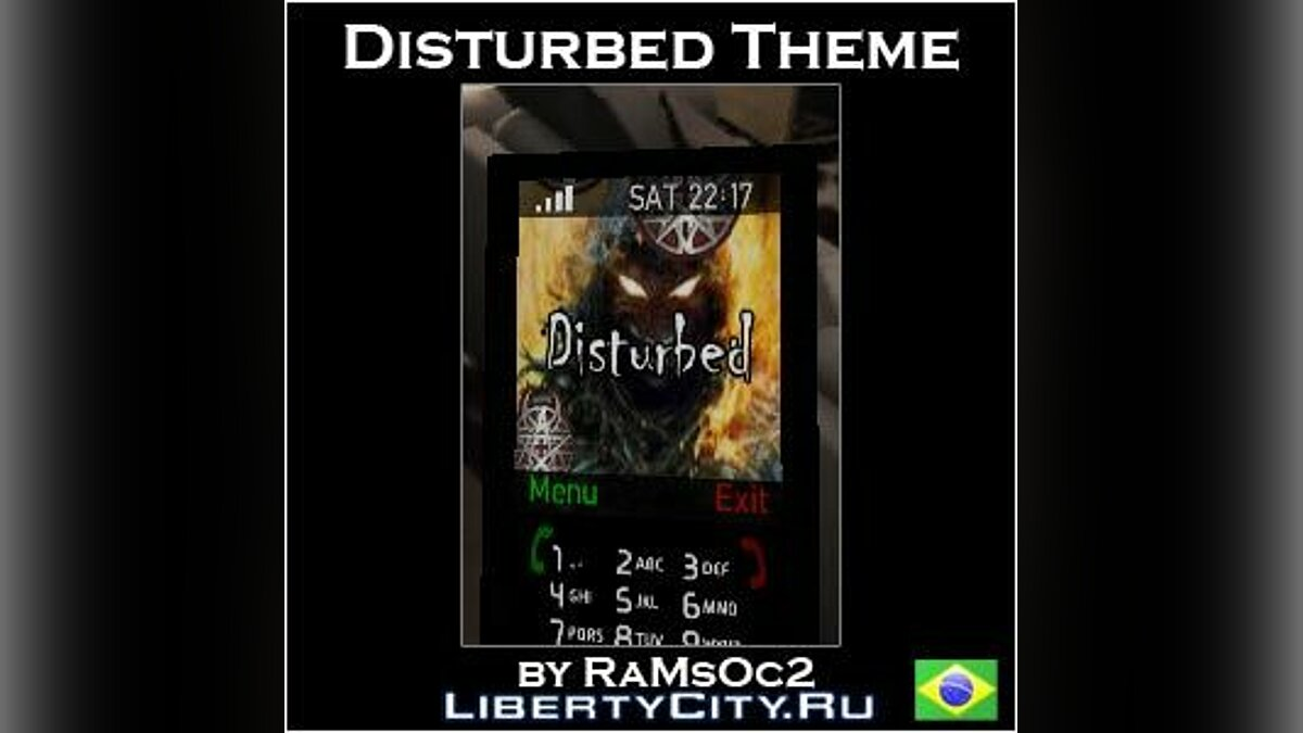 Disturbed Cellphone Theme for GTA 4