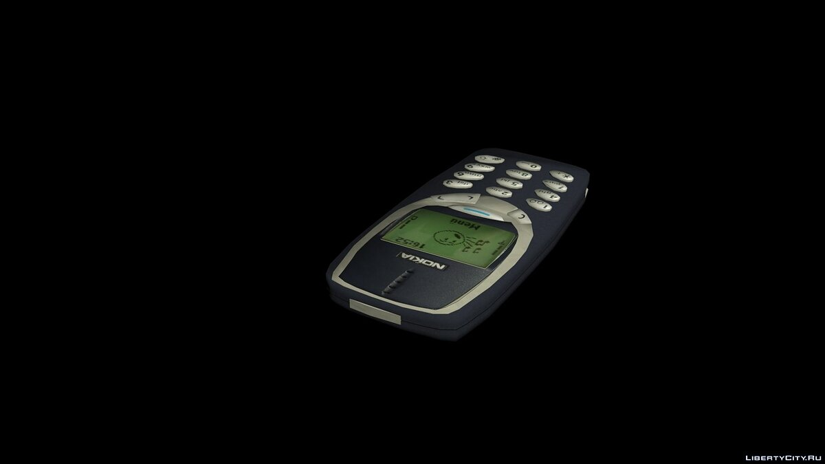 Cellphone NOKIA 3310 for GTA 4
