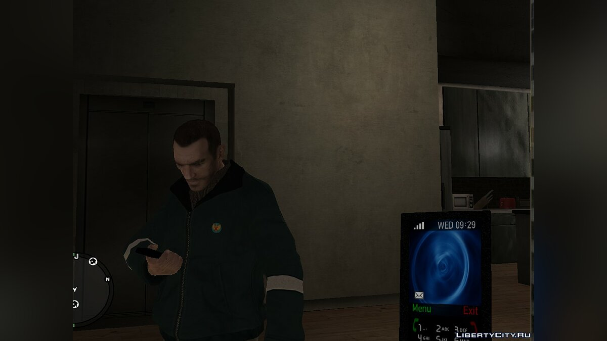 Cellphone Theme 3D Image for GTA 4