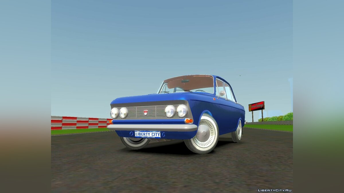 Moskvitch car AZLK 408 for GTA 4