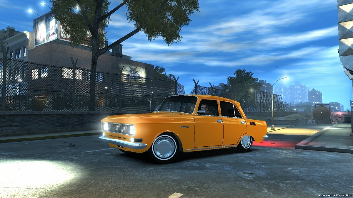 Moskvitch car Moskvich-2140 for GTA 4