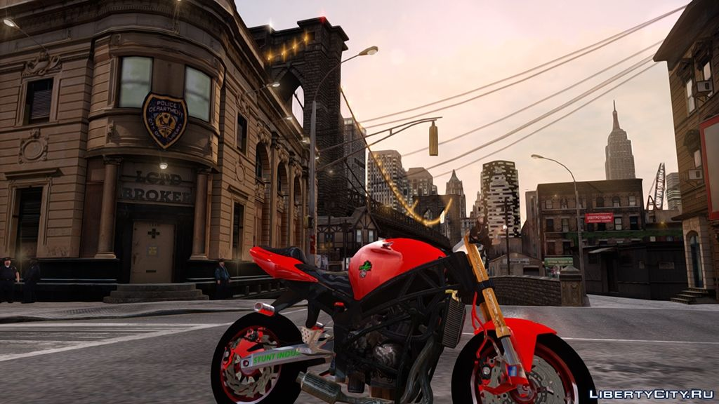 Honda CBR 600 F4i Stunt V1 by Wolf66 for GTA 4