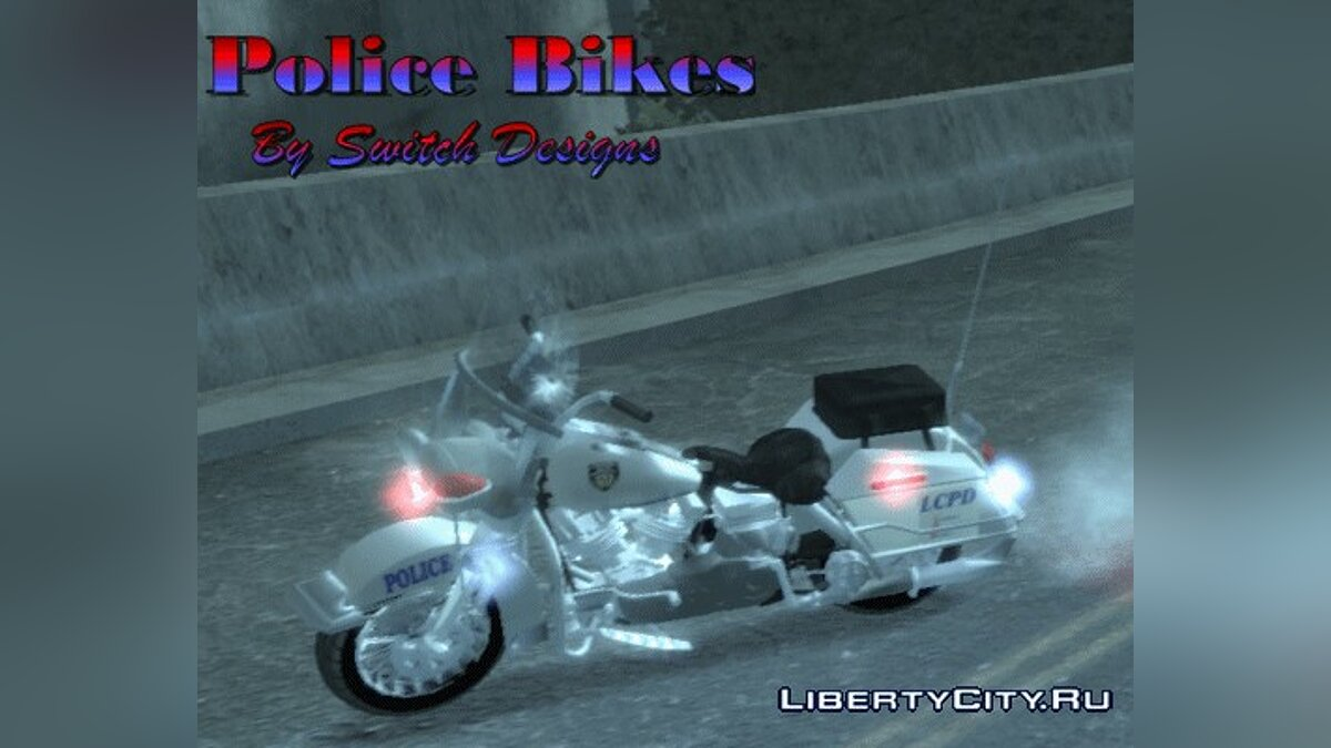 Police Bike for GTA 4 - Картинка #1