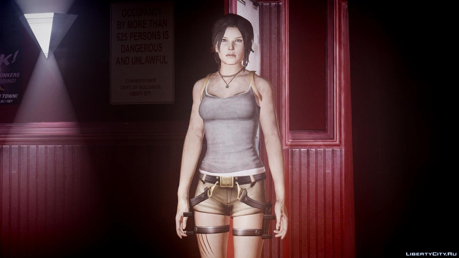 tomb raider 2013 face model