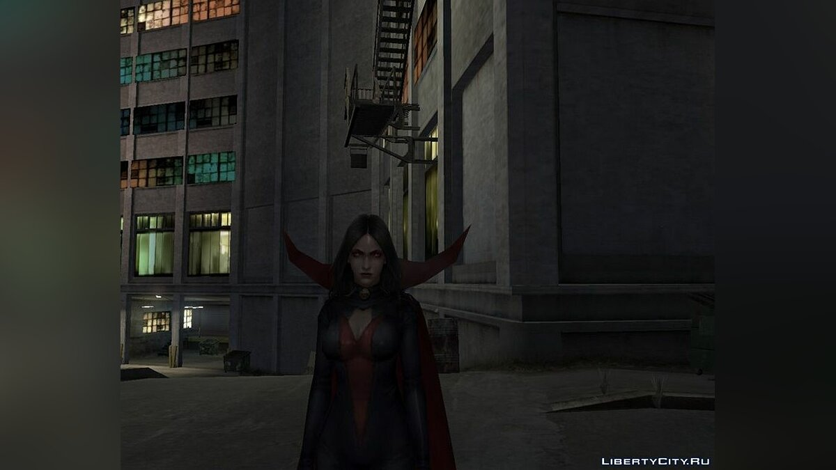 New character Satan from Marvel: Future Fight for GTA 4