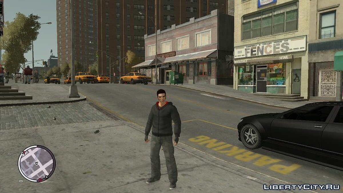 New character HD Claude + gloves, new clothes for GTA 4