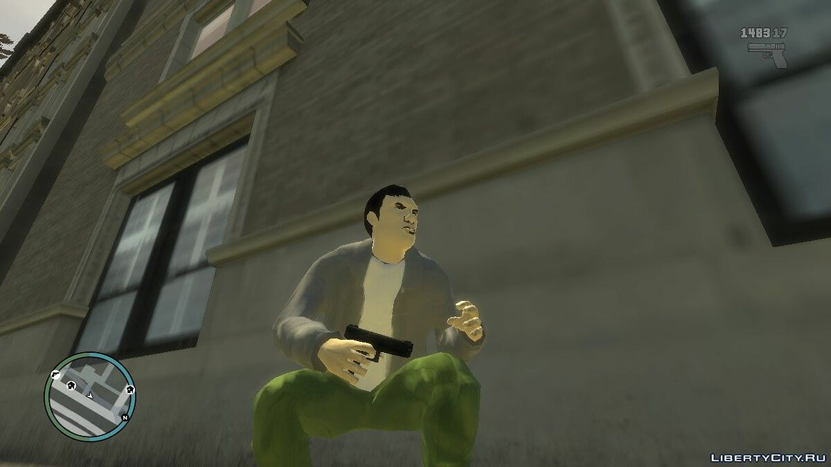 New character Mike from GTA Advance in the style of GTA 4 for GTA 4