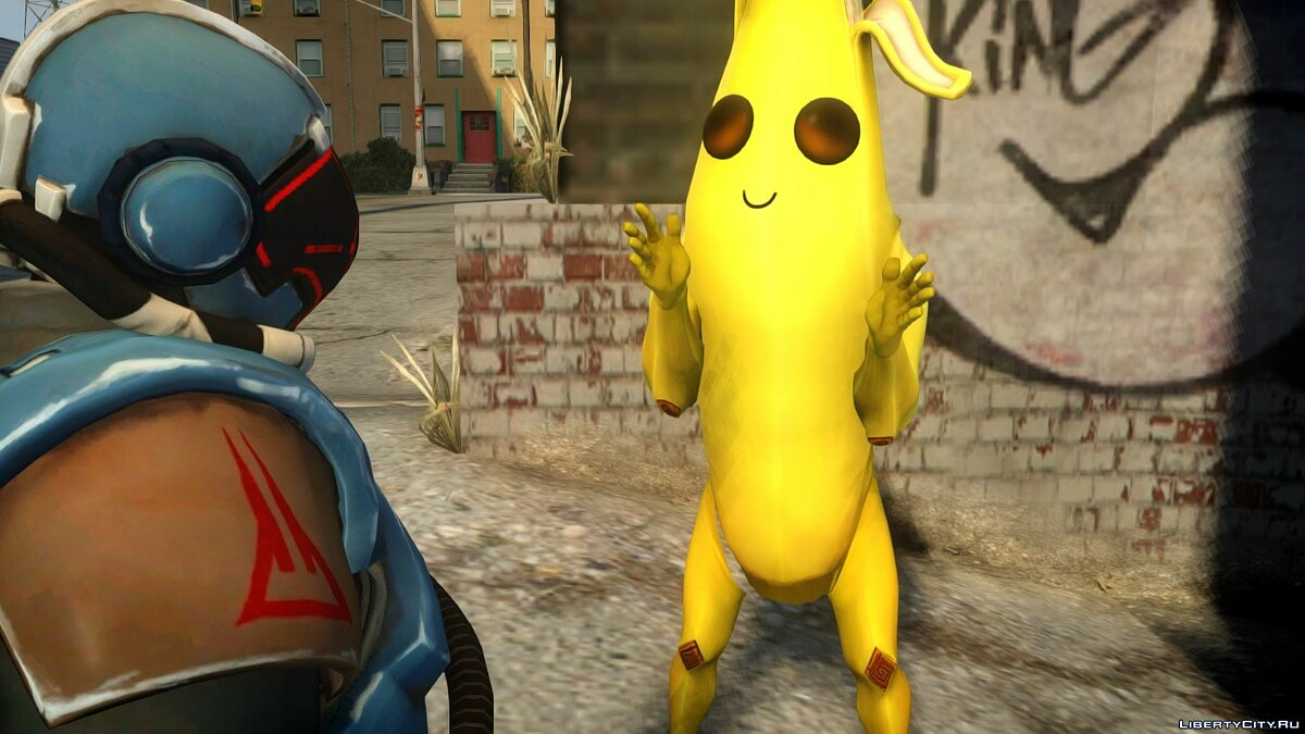 New character Banana from Fortnight for GTA 4