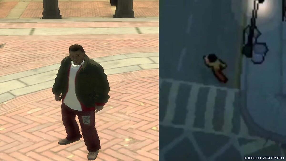 New character Huang Li in the style of GTA 4 v. 2 for GTA 4