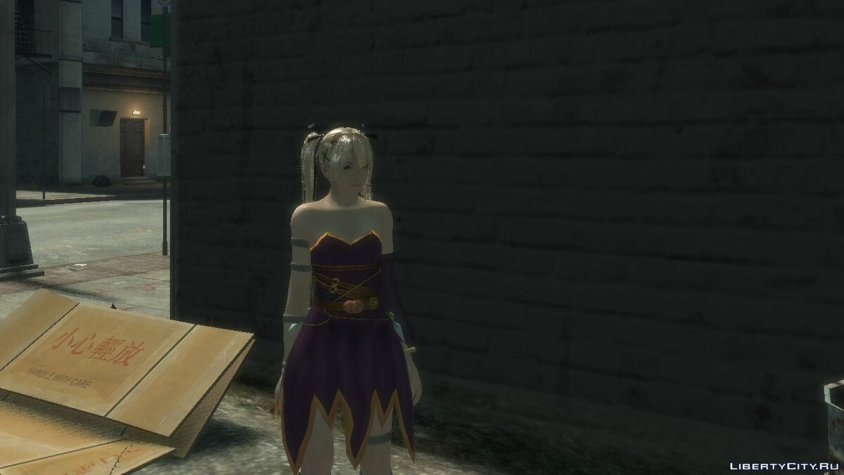 New character Mary Rose DLC Halloween Costume for DOA 5 for GTA 4