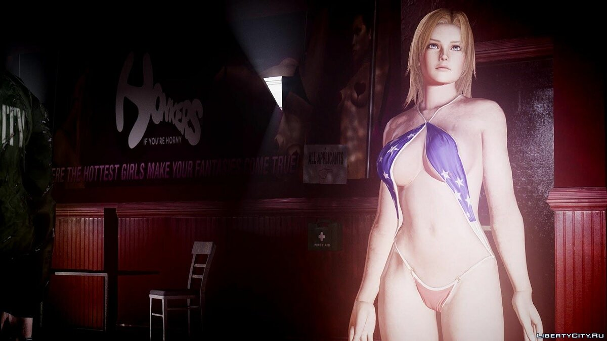 Dead Or Alive 5 Tina bathingsuit for GTA 4 - Картинка #1