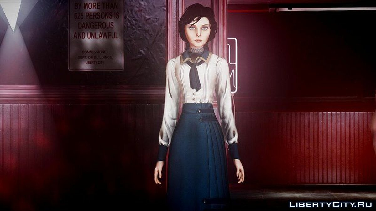 New character Elizabeth from BioShock for GTA 4