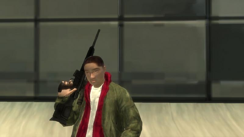 New character Huang Li in the style of GTA 4 for GTA 4