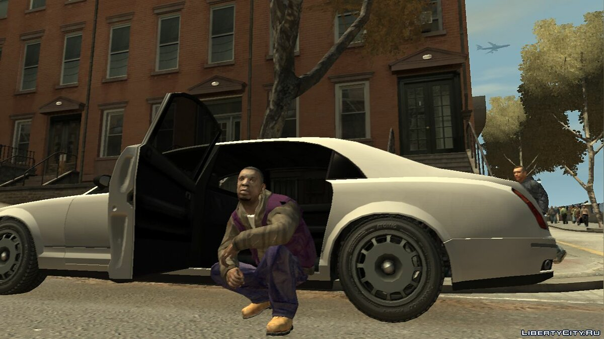 New character Clarence Little (New Skin) for GTA 4