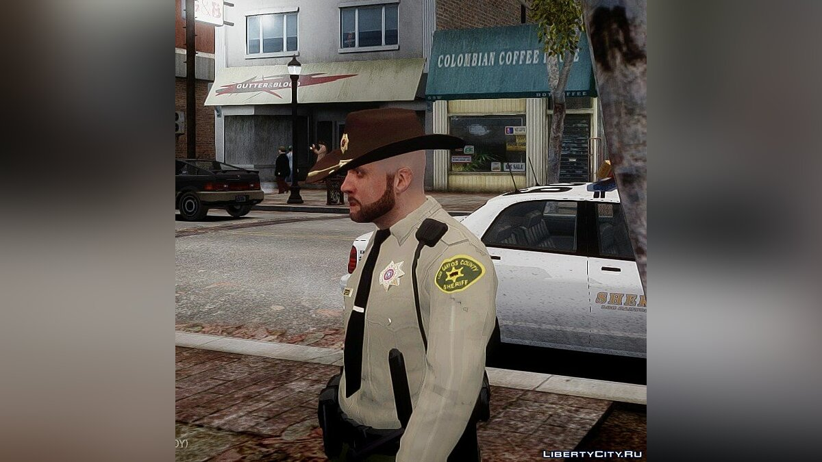 New character GTA V sheriff for GTA 4