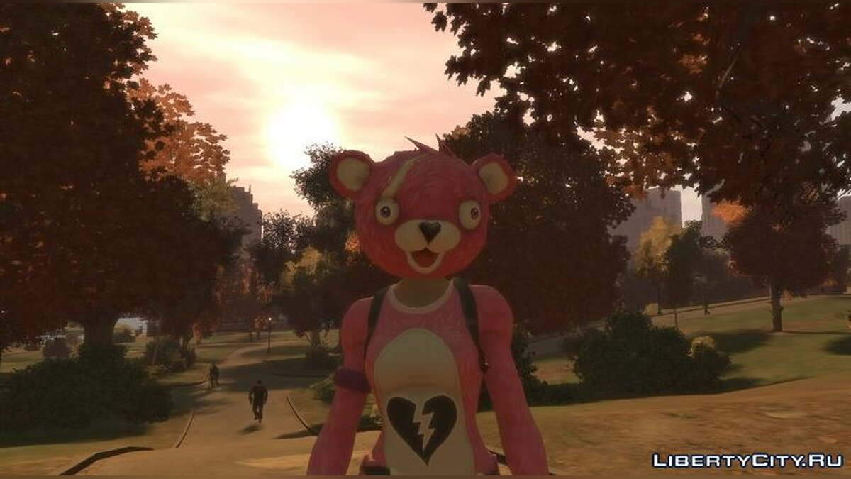 New character Cuddle Team Leader from Fortnight for GTA 4