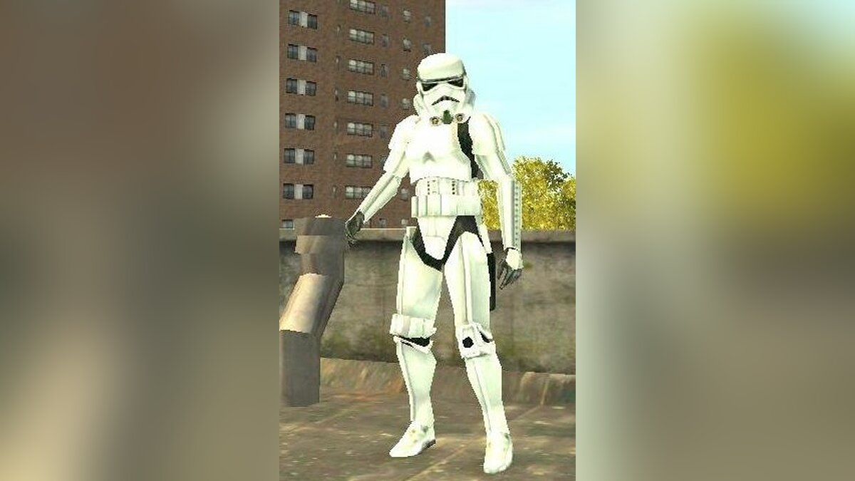 New character Imperial Stormtrooper for GTA 4