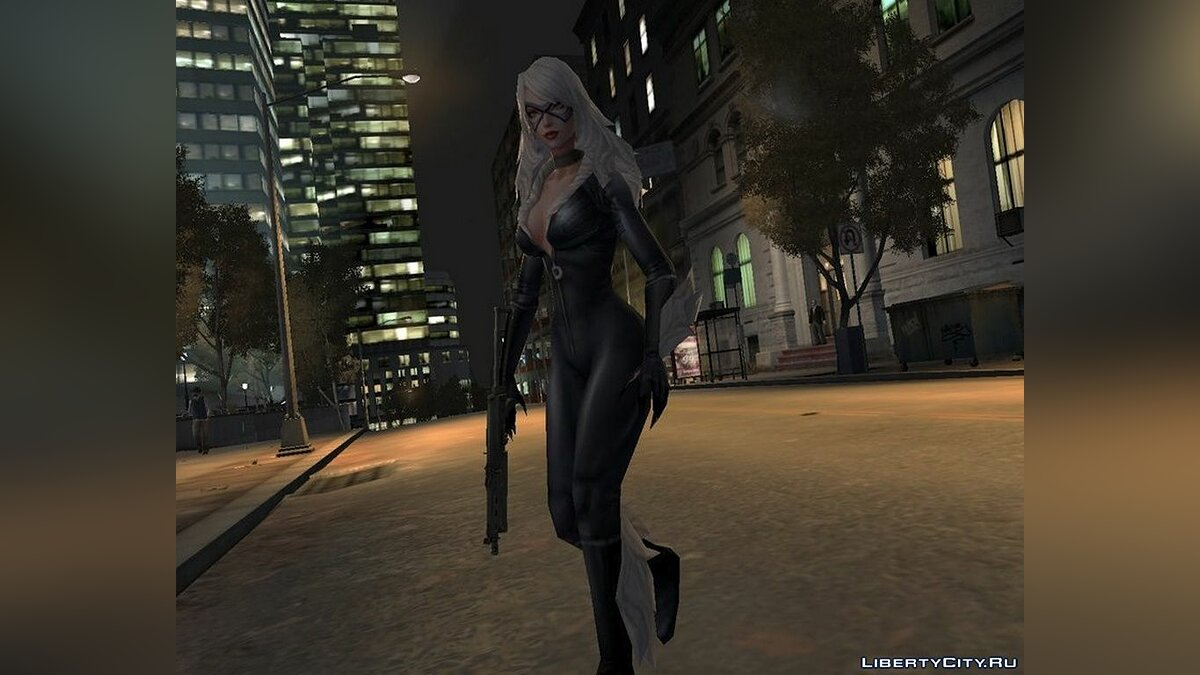 New character Marvel: Future Fight Black Cat for GTA 4