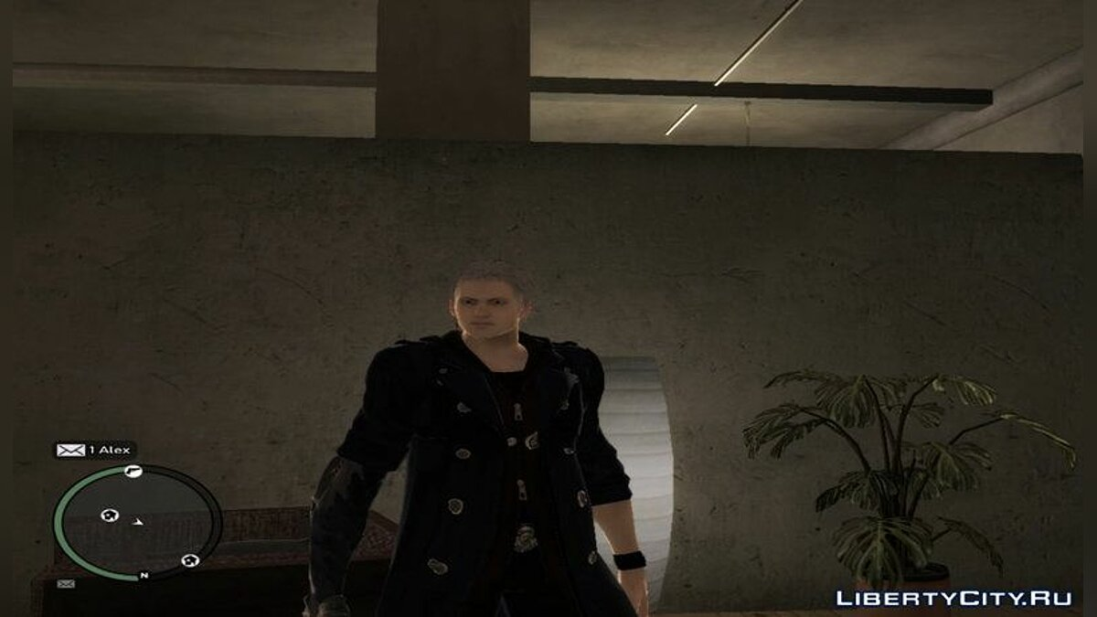 New character Nero from Devil May Cry 5 for GTA 4