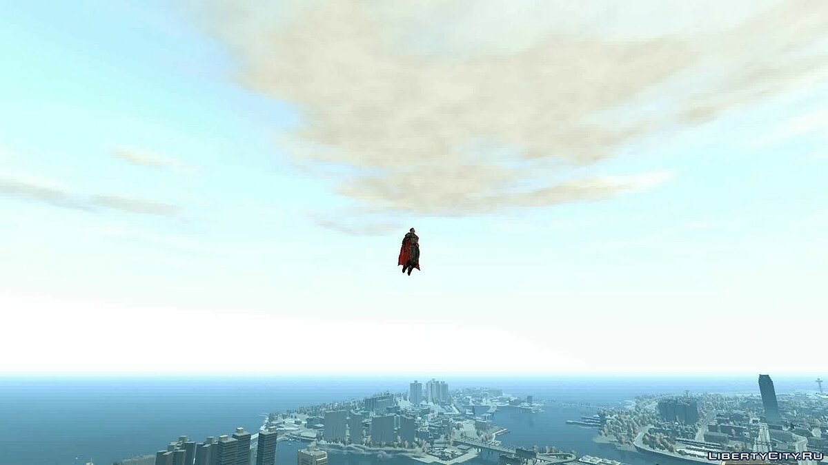 New character Red son from Injustice for GTA 4