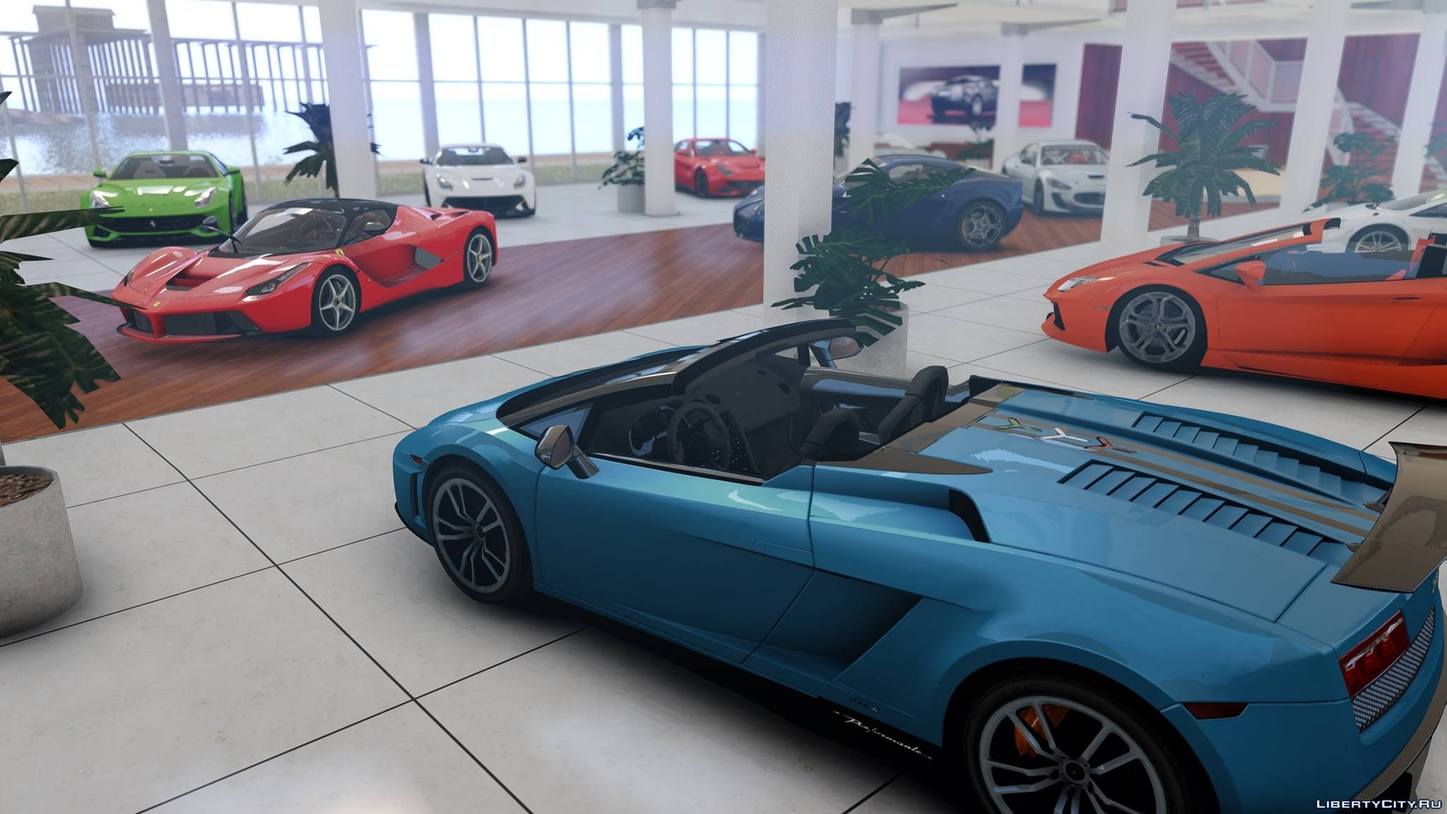 Beach Showroom - GTA5-Mods.com