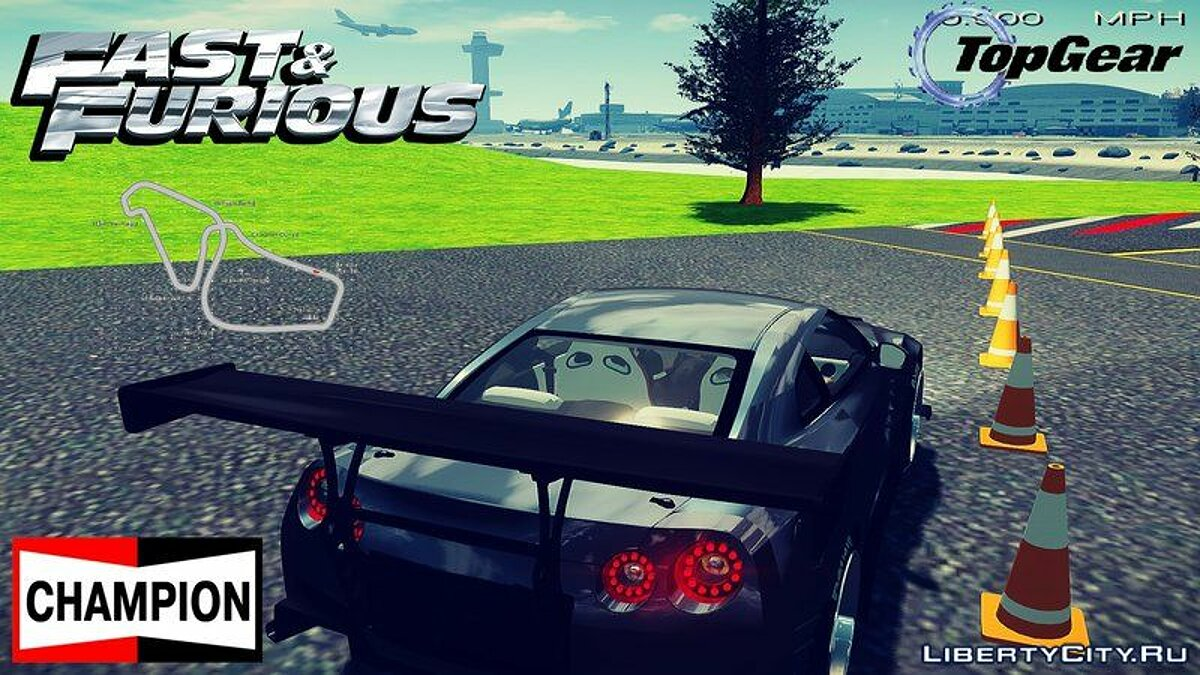 New object Top Gear Track Fix + Objects for GTA 4