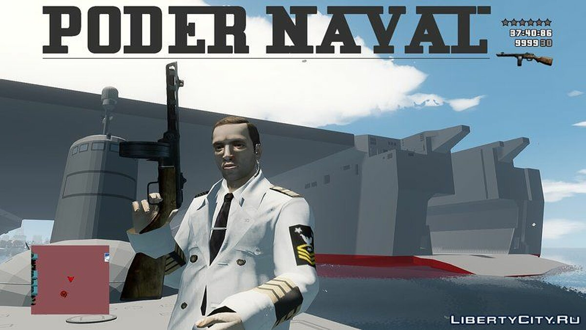 New object Poder Naval Navy Power for GTA 4
