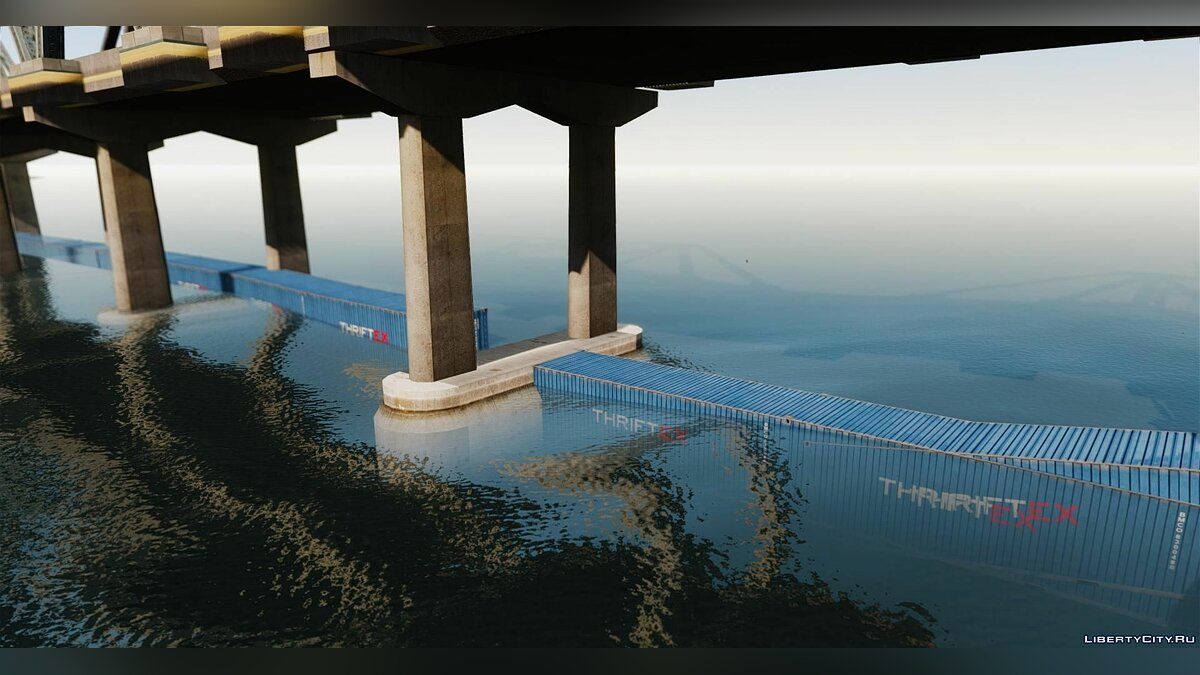 New object Road under the bridge for GTA 4