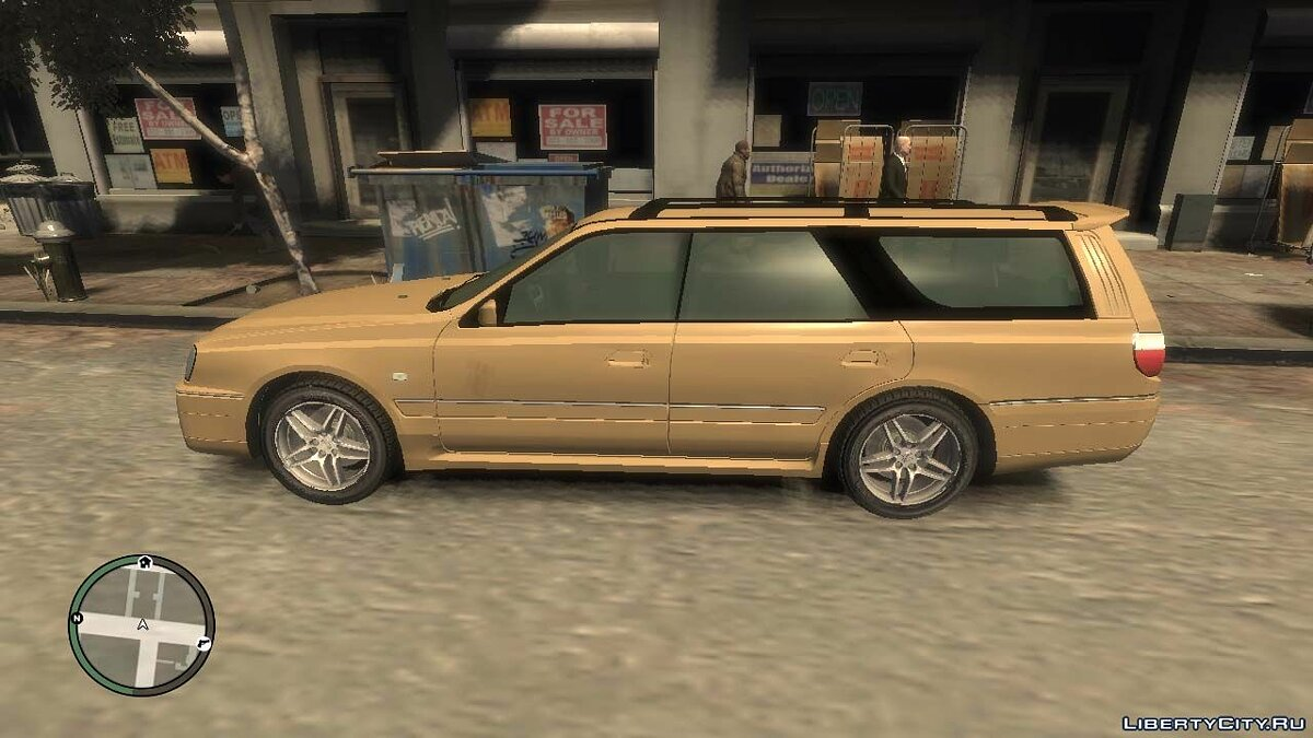 Nissan car 1999 Nissan Stagea Ctock v.1.0 for GTA 4