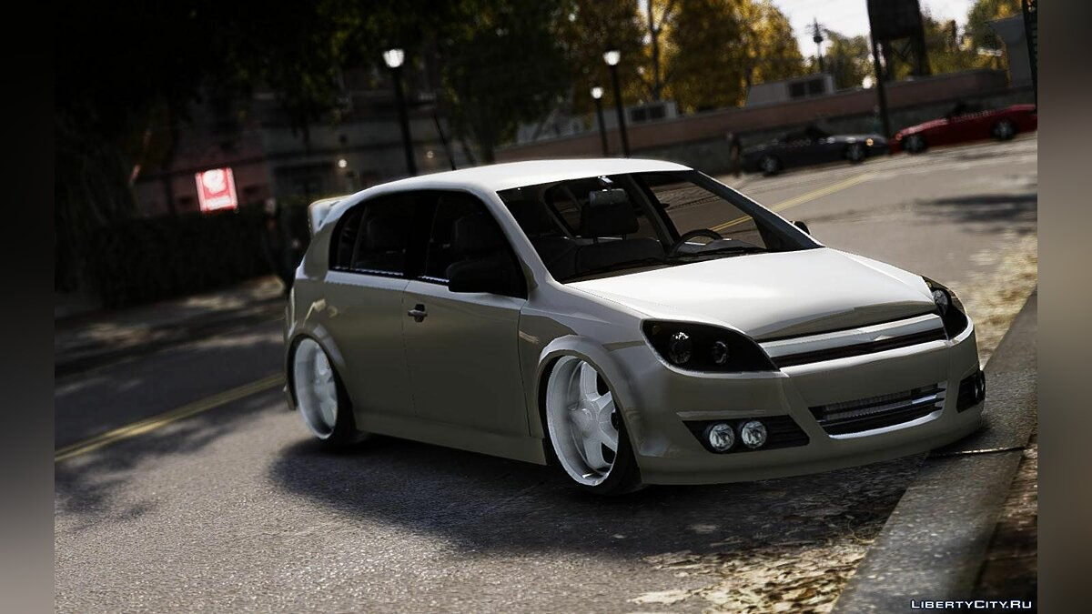 Opel car Opel Astra Project for GTA 4