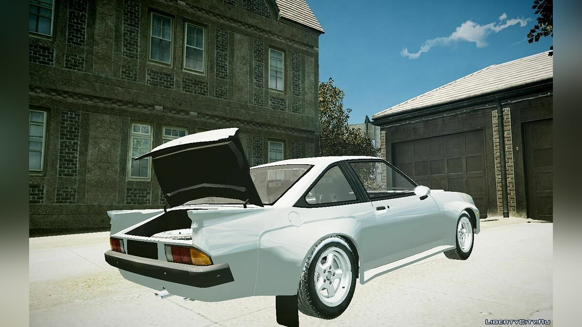 Opel car Opel Manta Road Version for GTA 4