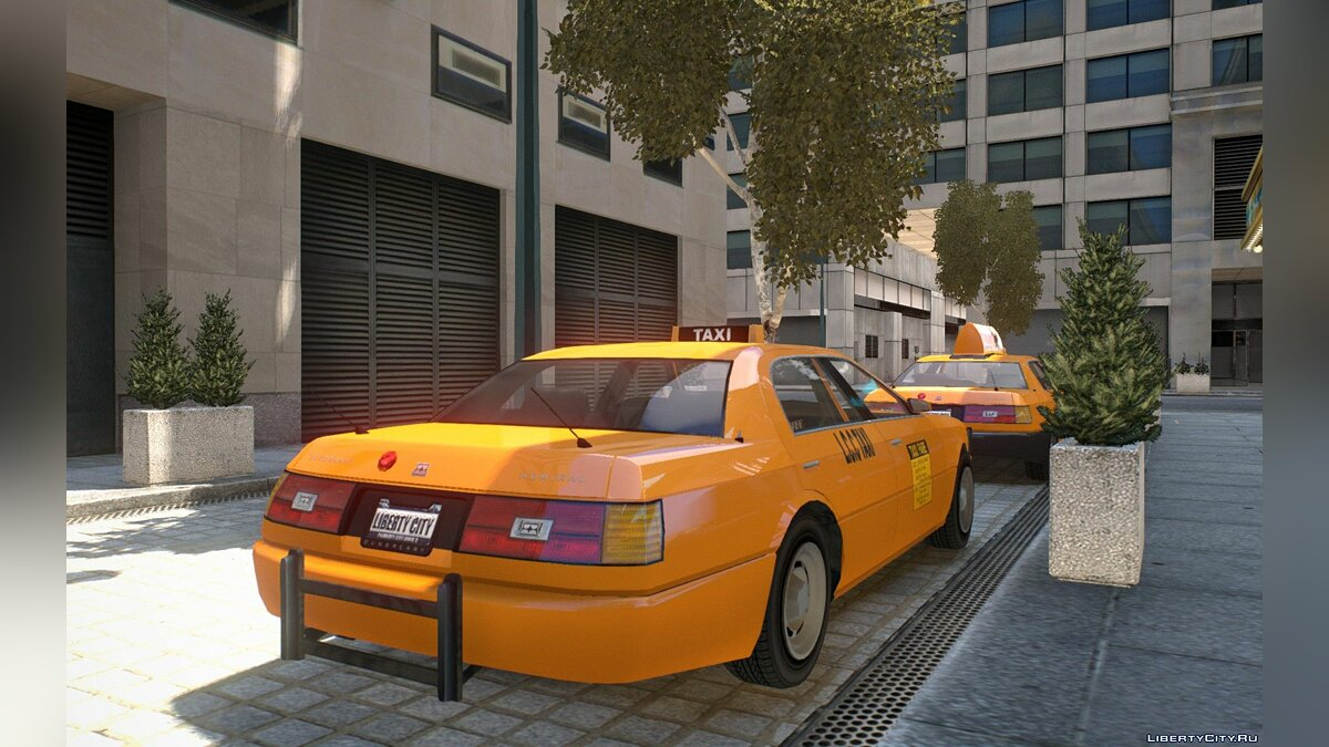 Car Admiral Taxi V2 for GTA 4