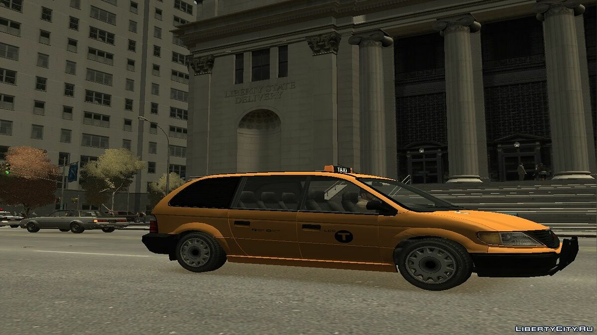 Car Cabby Taxi Skin 2011 - Present for GTA 4
